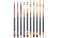 P3046-P3055 Deluxe Spliced Pool Cue Series