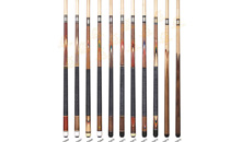P3066-P3076 Deluxe Spliced Pool Cue Series