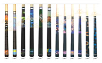 P5029-P5040 Stylish Design Decal Cue Series