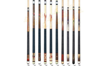 P3056-P3065 Deluxe Spliced Pool Cue Series