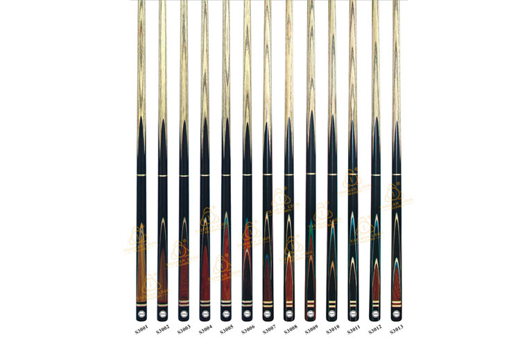 S3001-S3013 High Quality Snooker Cue Series