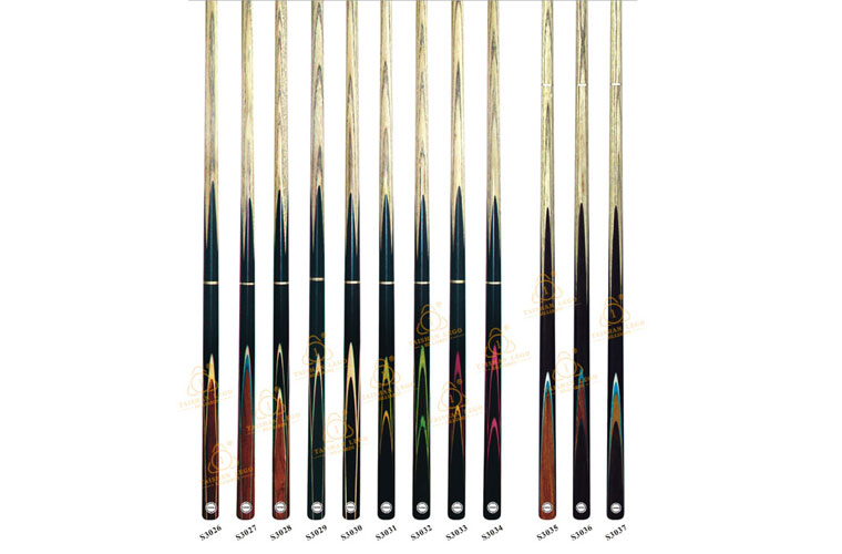 S3026-S3037 High Quality Snooker Cue Series