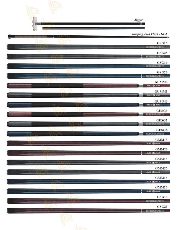 G001-GSG Graphite Cue Series